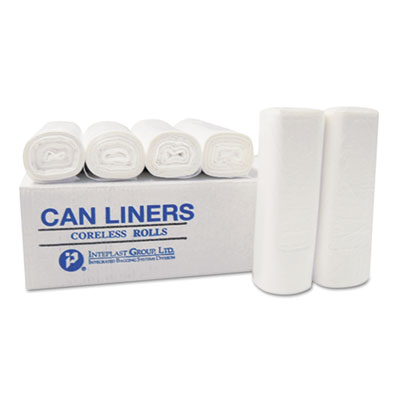 High-Density Commercial Can Liners, 7 gal, 6 microns, 20