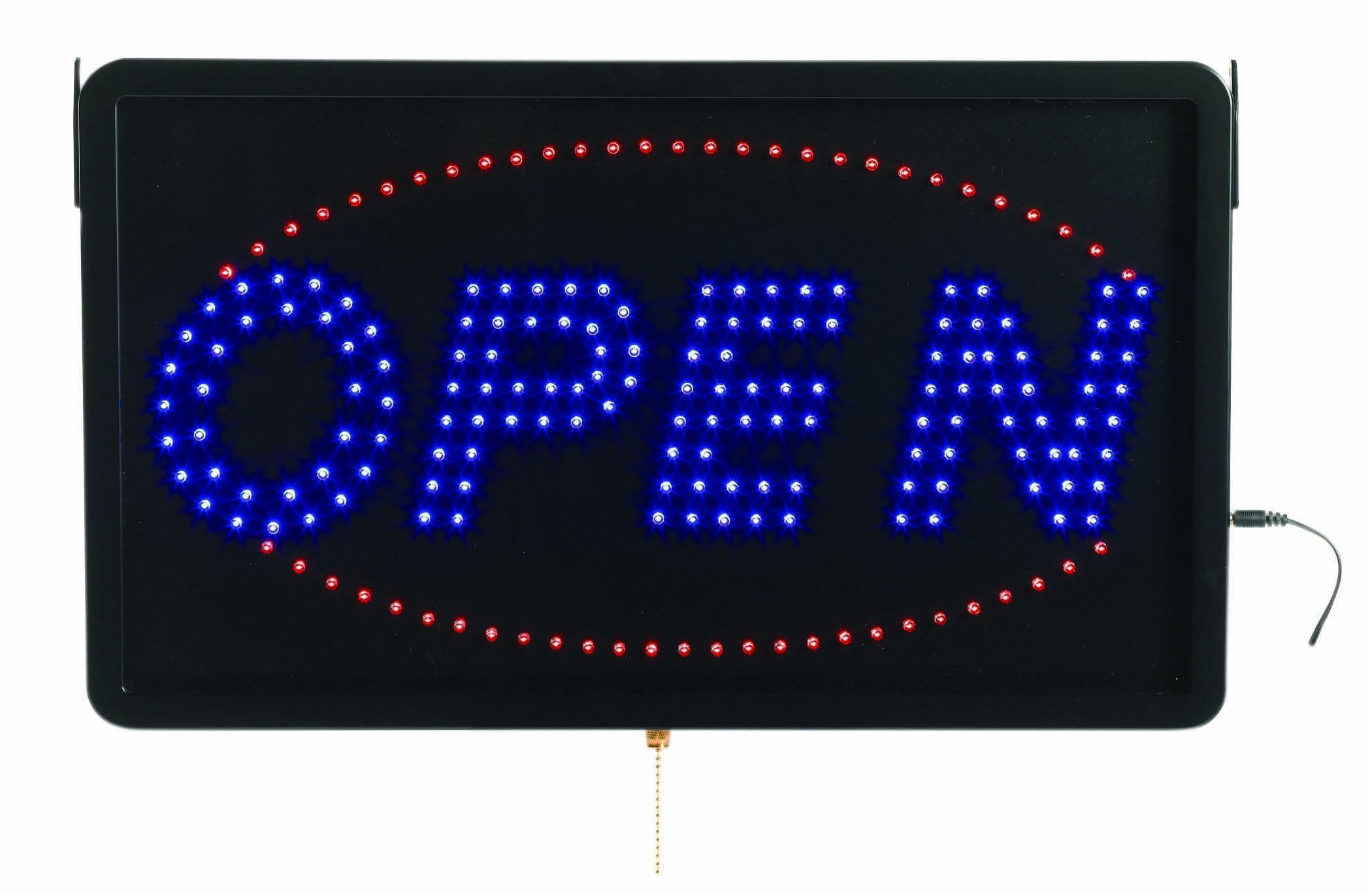 "Aarco Products OPE02L High Visibility Large LED Open Sign, 22""W x 13""H"