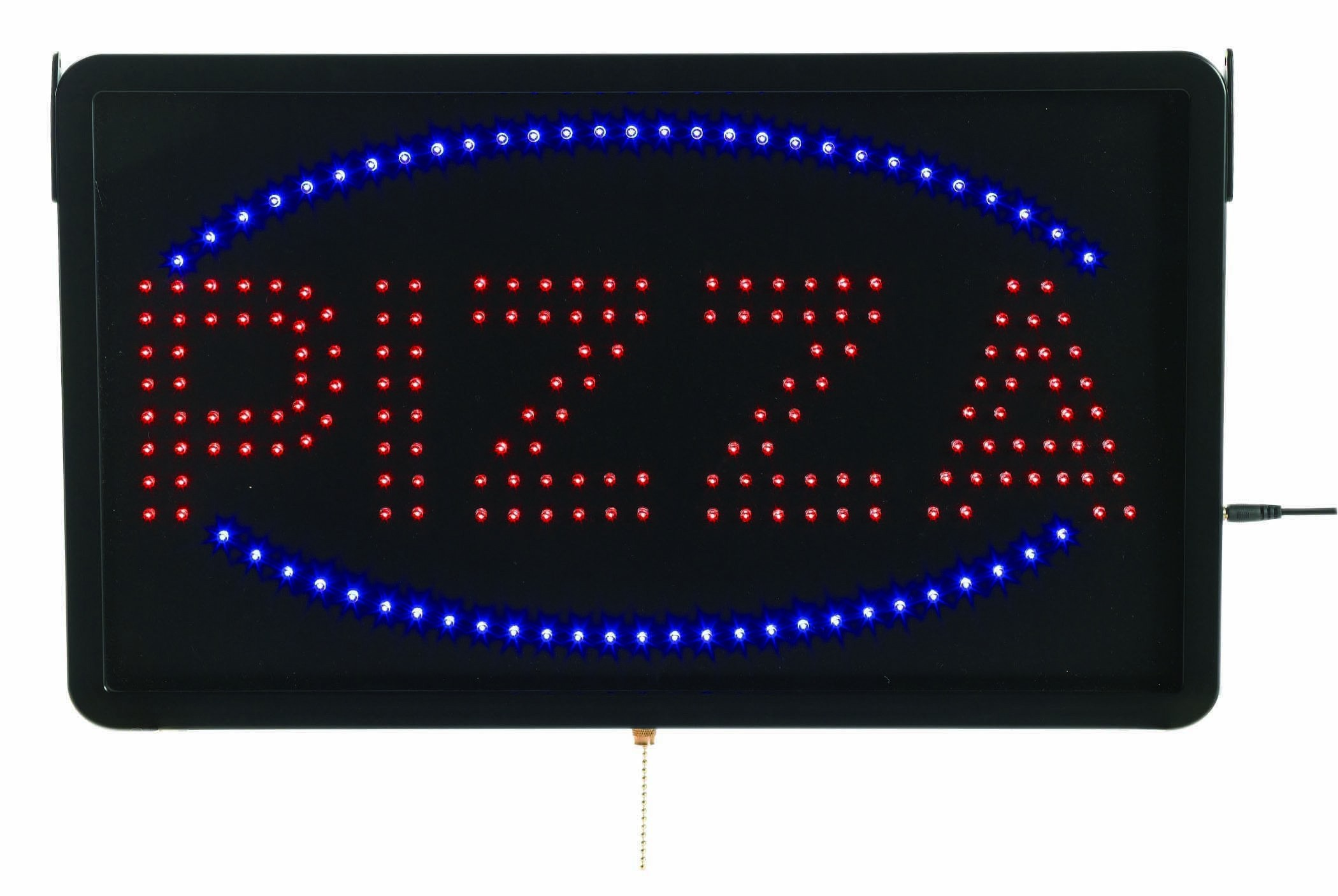"Aarco Products PIZ01L High Visibility Large LED Pizza Sign, 22""W x 13""H"
