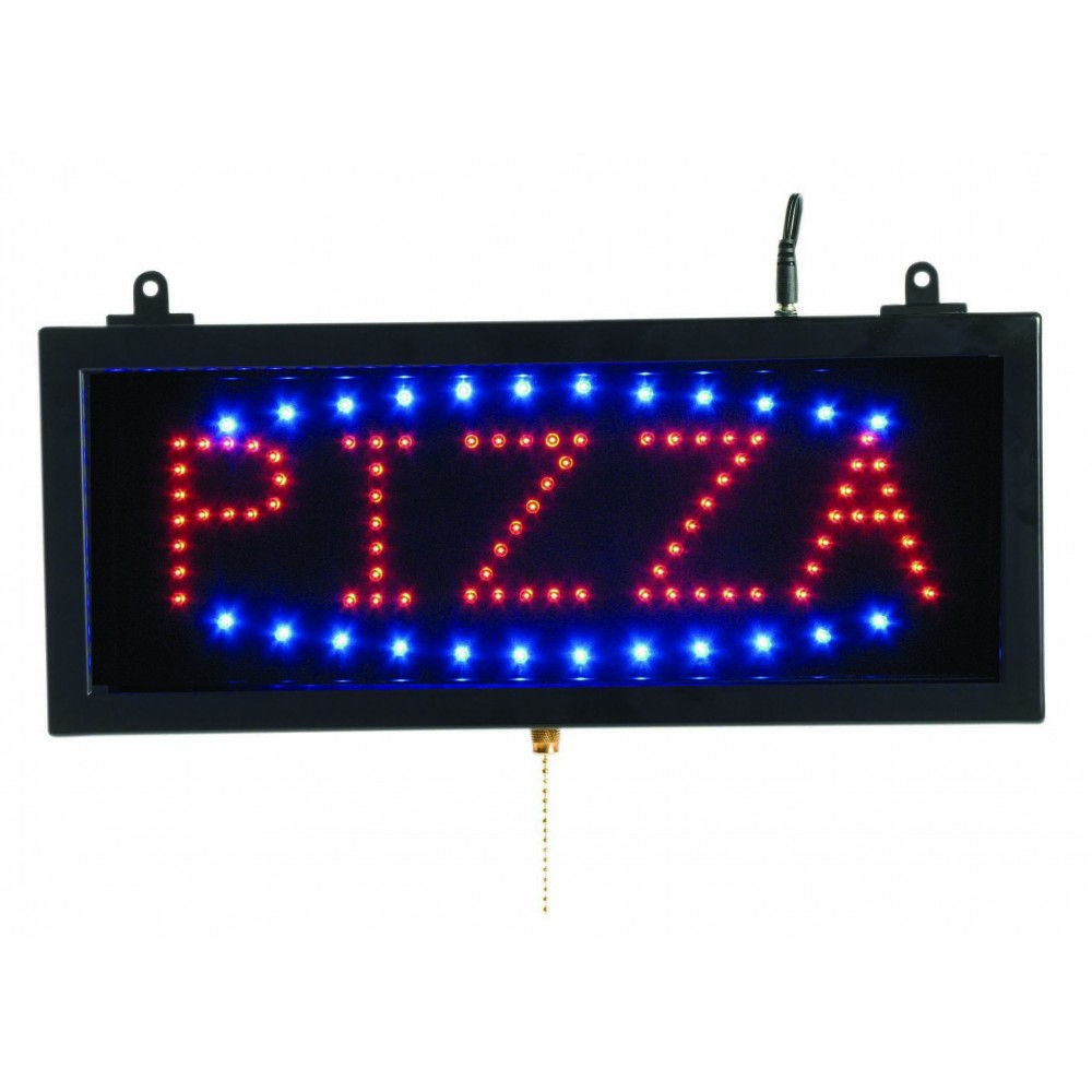 "High Visibility LED Pizza Sign - 6-3/4"" x 16-1/8"""