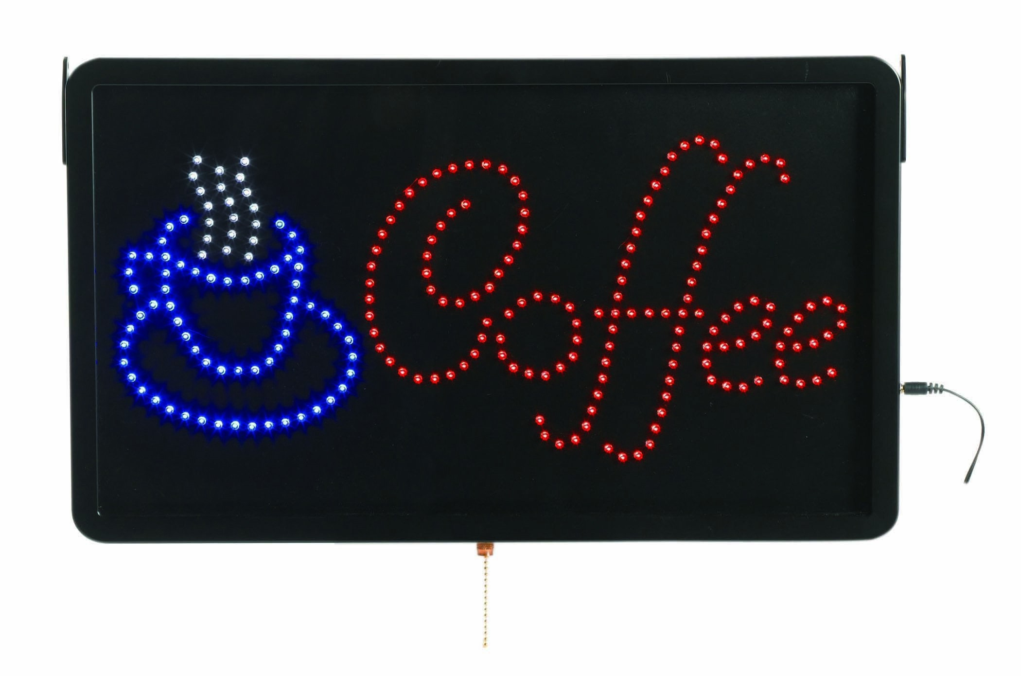 """Aarco Products COF03L High Visibility LED Coffee Sign 22""""W x 13""""H"""