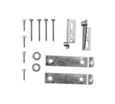 Franklin Machine Products  235-1050 Hinge & Bracket Kit (Pair)