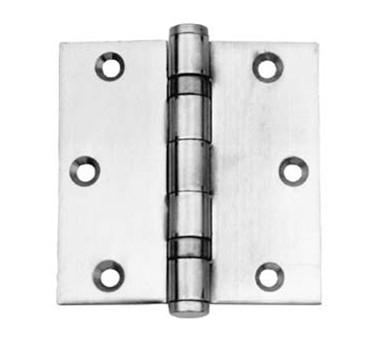 Franklin Machine Products  134-1001 Hinge, Butt (4.5, Brass Plt ) (2 )