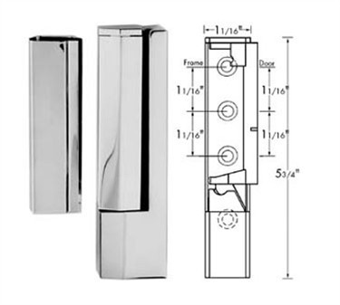 Franklin Machine Products  123-1191 Hinge, Cam (1 Ofst )