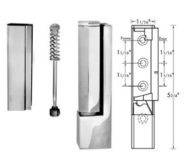 Franklin Machine Products  123-1001 Hinge, Cam Lift (Spring Assist )