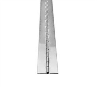 Franklin Machine Products  134-1116 Hinge, Continuous (2Wx6', Stainless Steel )