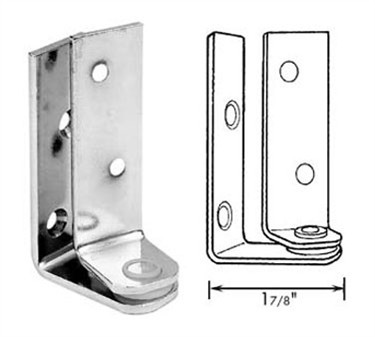 Franklin Machine Products  123-1198 Hinge, Pivot (1-7/8Proj, Cp )