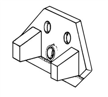Franklin Machine Products  198-1075  Knife Holder for Edlund Electric Can Openers