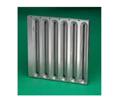 Franklin Machine Products  129-1135 Hood Filter, Baffle (16X25, Galvanized Steel, Kason )