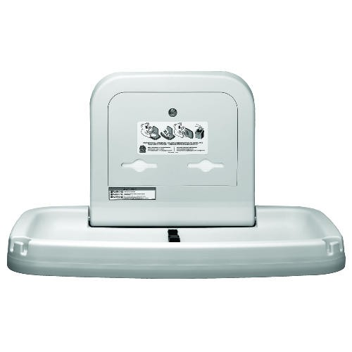 Horizontal Baby Changing Station, Cream