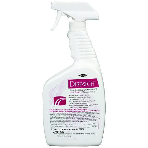 Hospital Cleaner Disinfectant w/Bleach, 1 qt. Trigger Spray Bottle