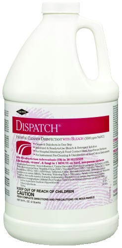 Hospital Cleaner Disinfectant w/Bleach, 2 qt. Refill Bottle
