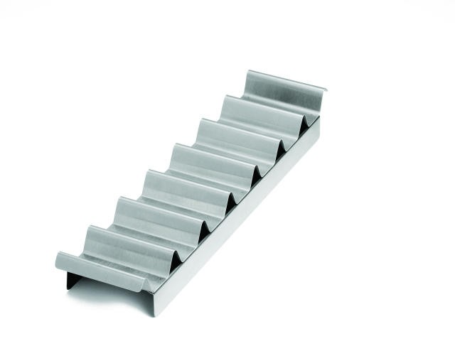 """TableCraft 937 Hot Dog Preparation Tray 18-1/4"""" x 4-1/4"""" x 1-1/2"""""""