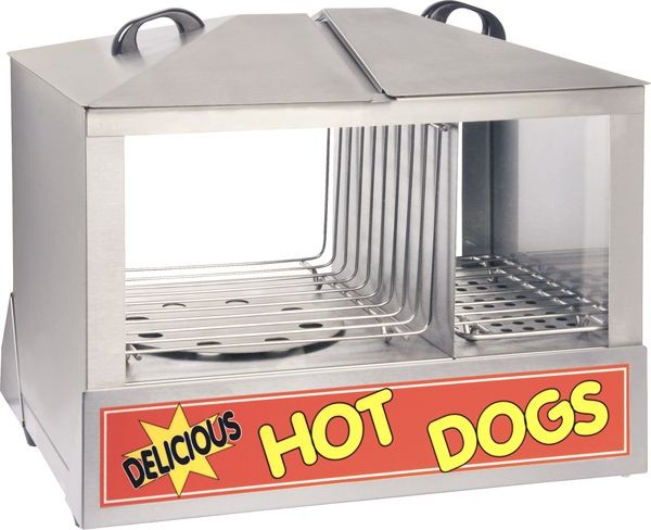Adcraft HDS-1200W Hot Dog and Bun Steamer