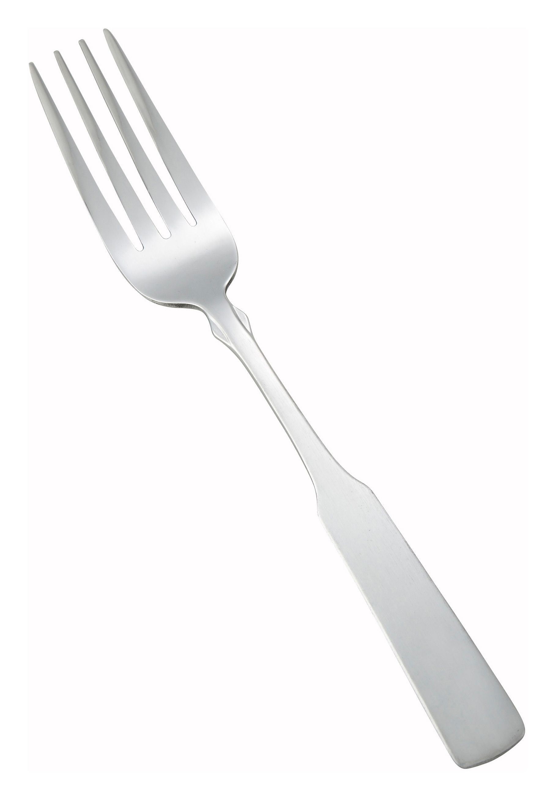 Winco 0025-05 Houston Heavy Weight Satin Finish Stainless Steel Dinner Fork (12/Pack)