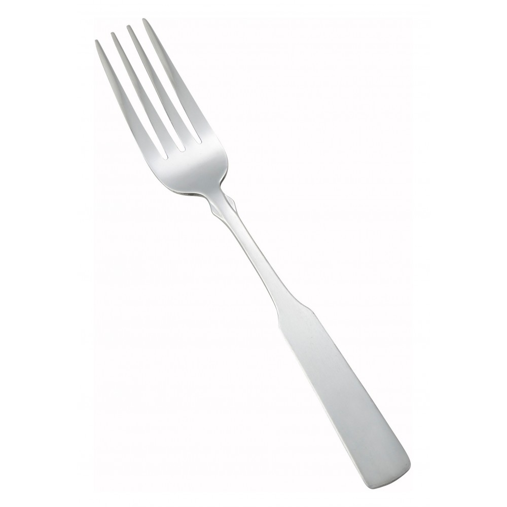 Houston Heavy Weight Satin Finish Stainless Steel Dinner Fork (12/Pack)