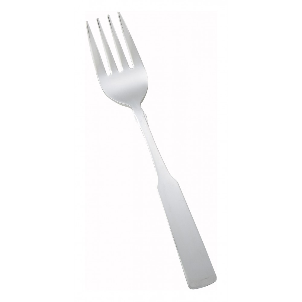 Houston Heavy Weight Satin Finish Stainless Steel Salad Fork (12/Pack)