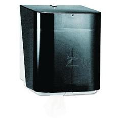 IN-SIGHT Sr. Center-Pull Dispenser, 10 13/20 x 10 x 12 1/2, Smoke/Gray