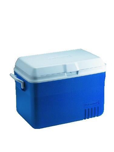 Ice Chest, 48 Quart, Blue