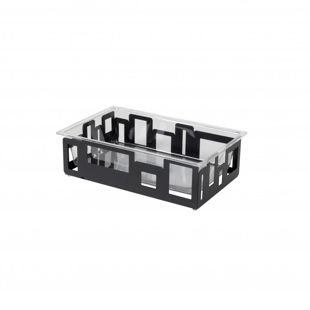 Ice Tub : Acrylic Insert & Black Matte Housing- 21