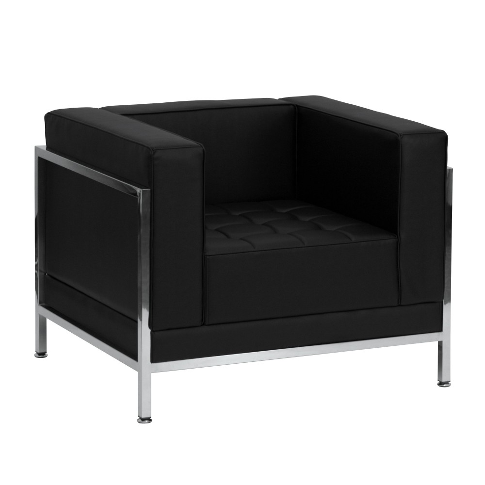 Imagination Series Contemporary Black Leather Chair