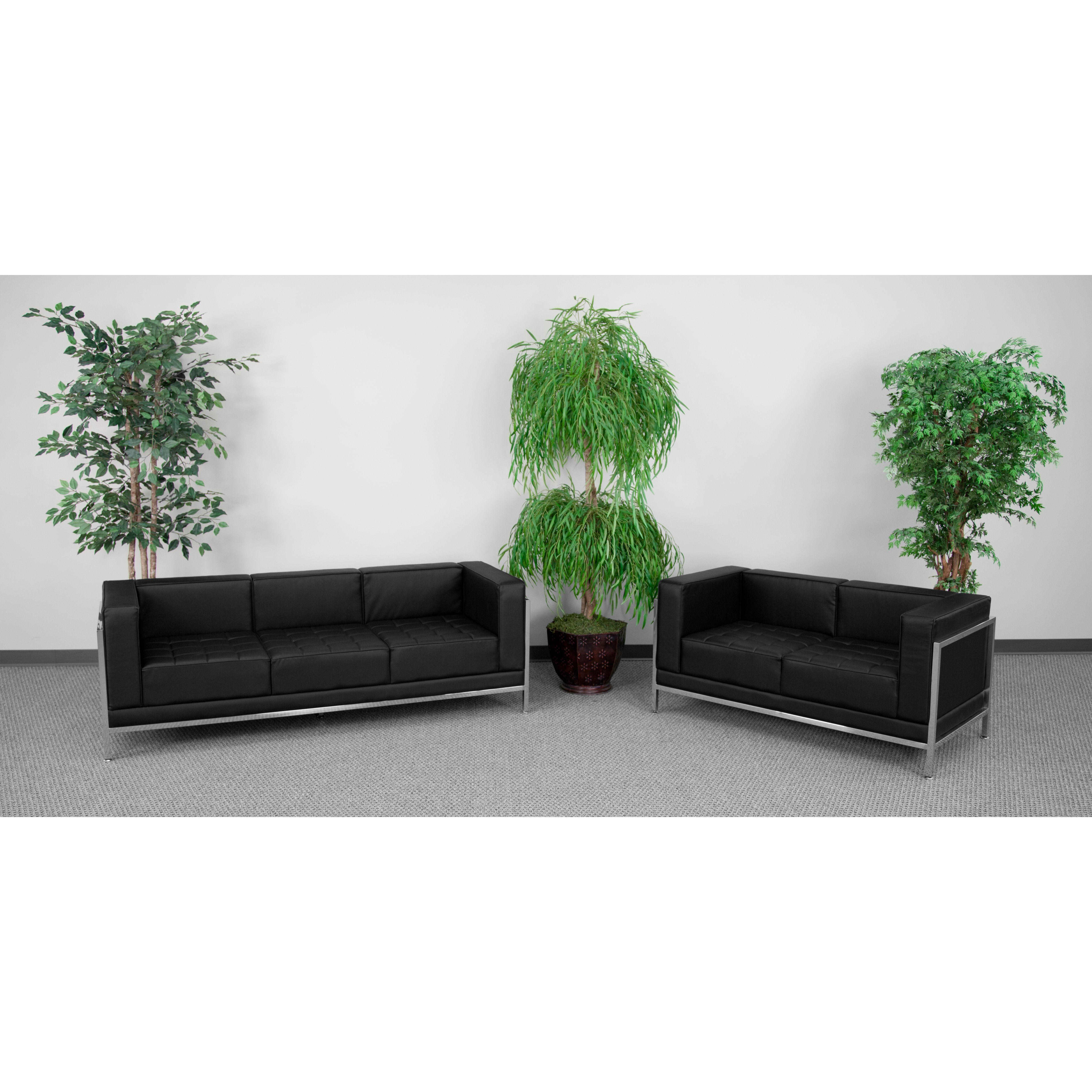 Flash Furniture ZB-IMAG-SET2-GG Imagination Series Sofa & Love Seat Set