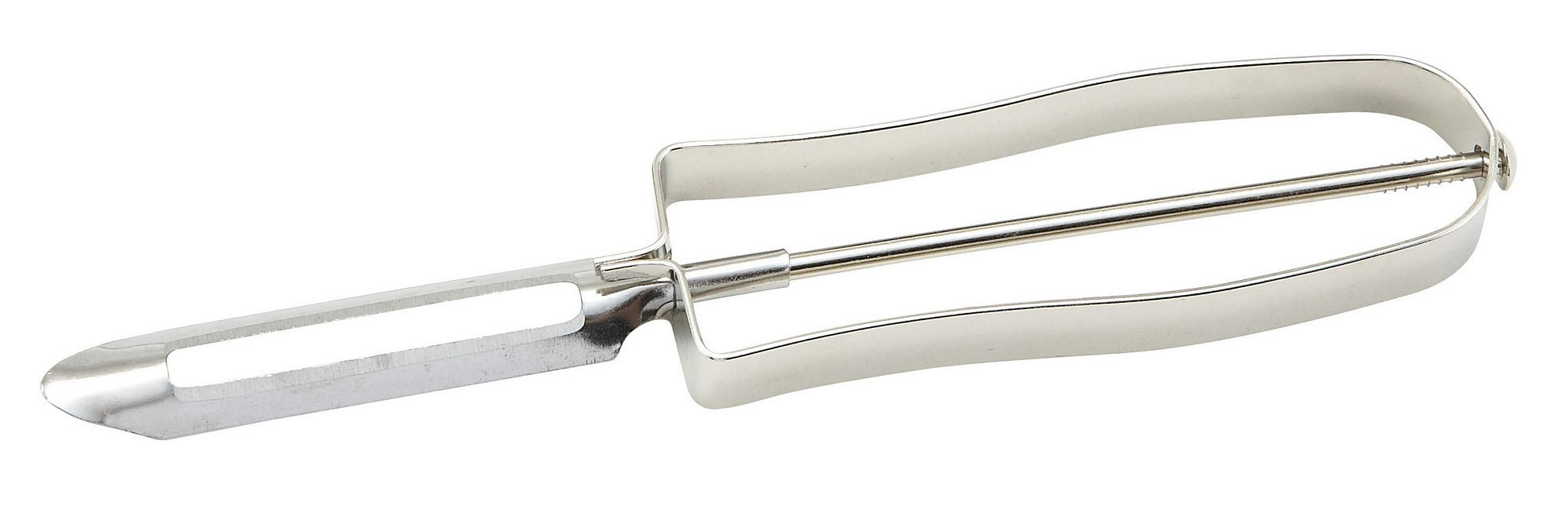 Individually Carded Vegetable Peeler With Nickel-Plated Handle