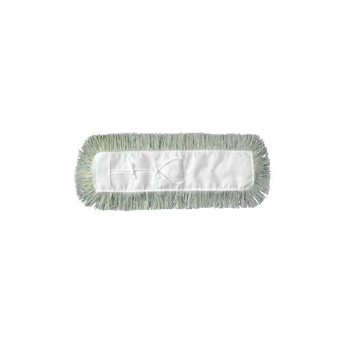 Industrial Dust Mop Head, Hygrade Cotton, 24w x 5d, White