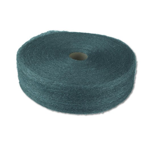 Industrial-Quality Steel Wool Reels, Medium, 5 Lb