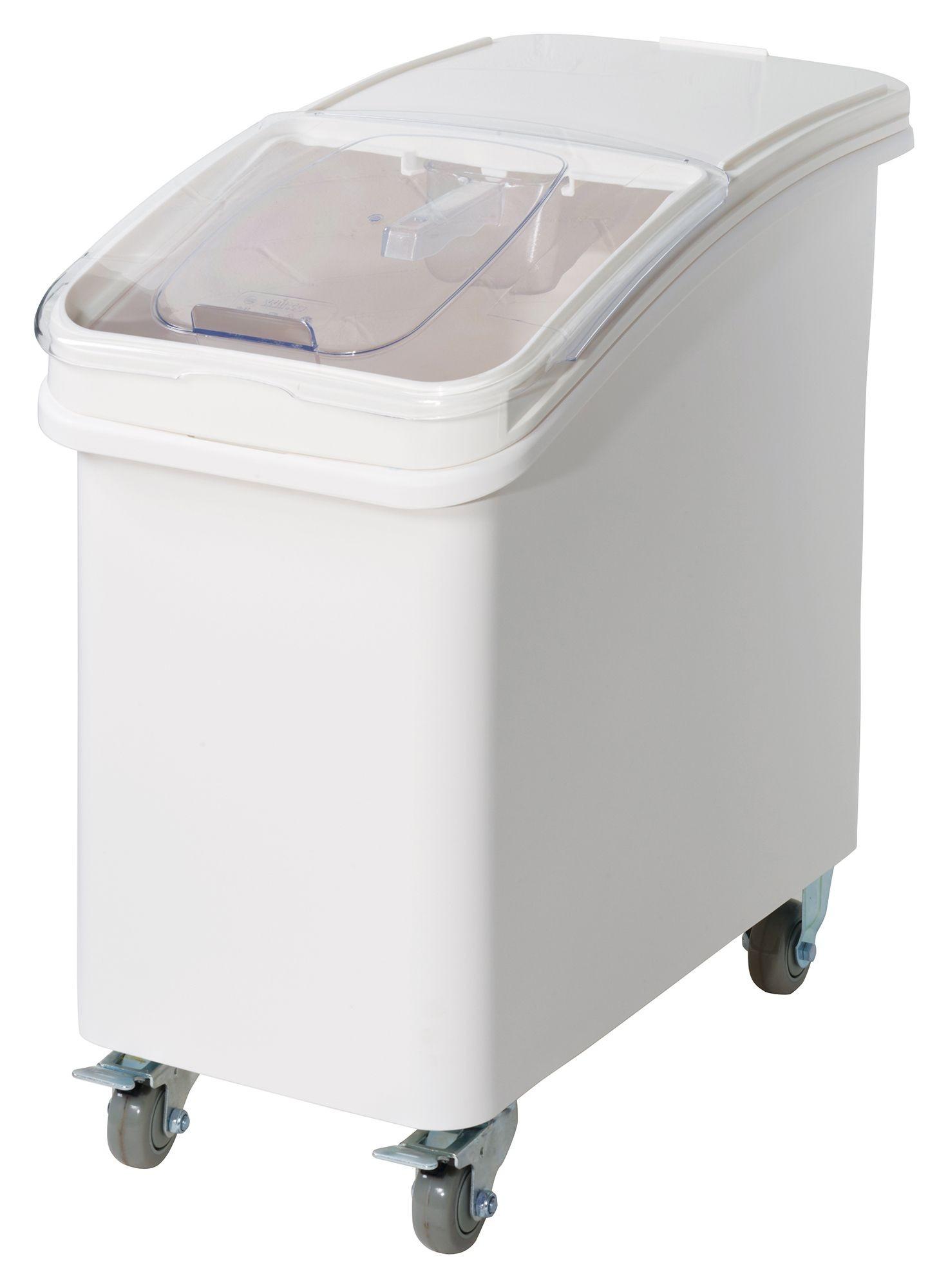 Winco IB-27 Plastic Ingredient Bin, 27 Gallon