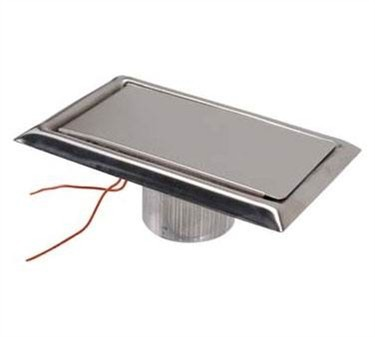 Franklin Machine Products  159-1052 Inlet, Vacuum Wall (with Cover )