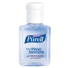Instant Hand Sanitizer, 0.5 oz Flip-Cap Bottles