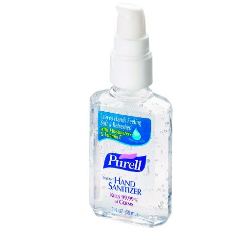 Instant Hand Sanitizer, 12-oz. Pump Bottle, Clear