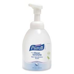 Instant Hand Sanitizer Skin Nourishing Foam, 18 oz Bottle