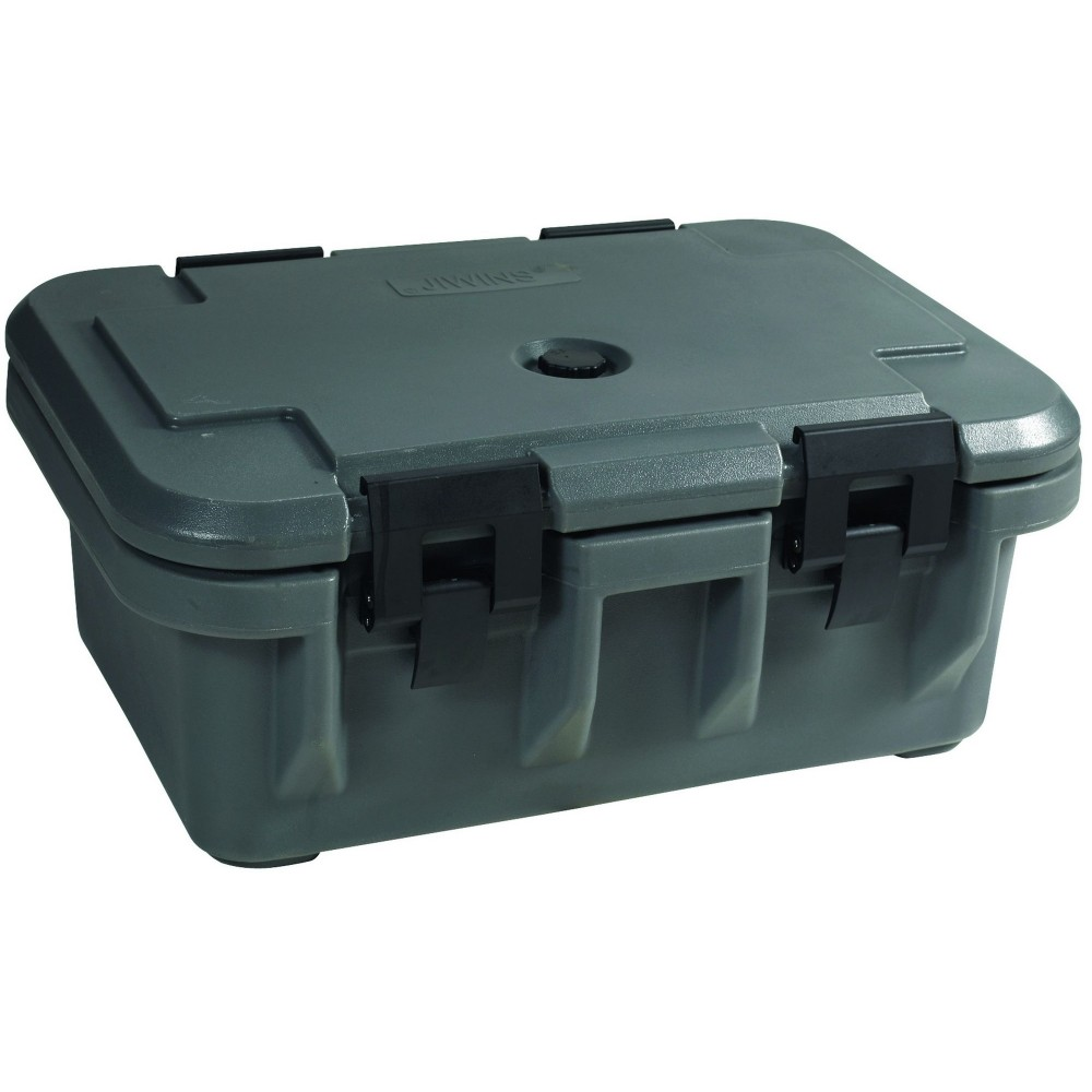 "Winco IFPC-6 Insulated Food Pan Carrier, 6"" Deep"