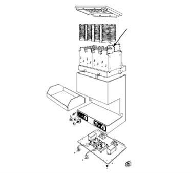 Franklin Machine Products  189-1009 Insulator, Toaster (Ceramic)