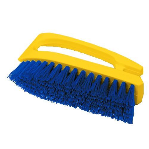 Iron-Shaped Handle Scrub Brush, 6