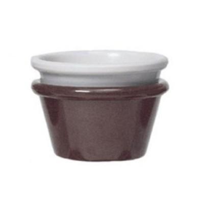 Ivory Melamine 1.75 oz., 2.8'' Ramekin, 0.9'' Deep