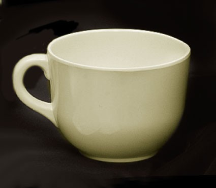 Ivory Melamine 20 Oz. Mug