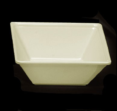 Thunder Group PS5006V Passion Pearl Melamine 23 oz. Square Bowl 6""