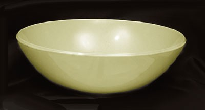 Thunder Group PS3110V Passion Pearl Melamine 96 oz. Serving Bowl 11""