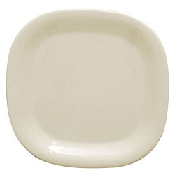 "Thunder Group PS3014V Passion Pearl Melamine Rounded Square Plate 14"" x 14"""
