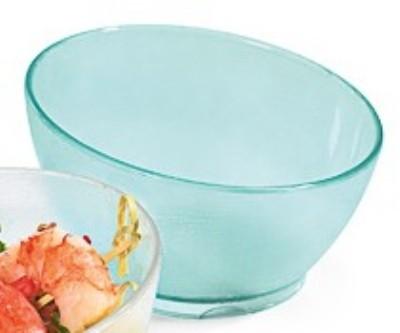 G.E.T. Enterprises HI-2037-JA Cache Jade Polycarbonate 11.5 oz. Cascading Bowl