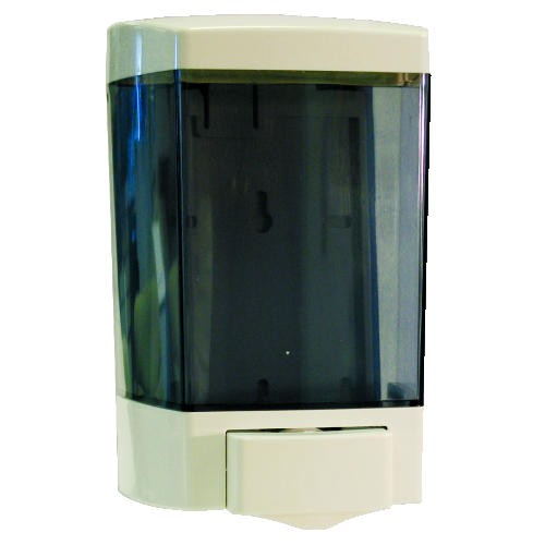 Jaguar Plastics Plastic Soap Dispenser, 46 Oz, White (Box of 1)