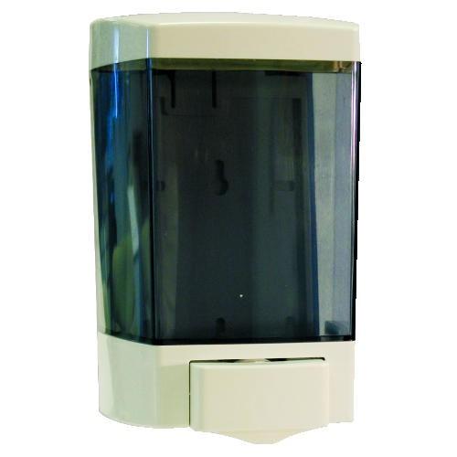 Jaguar Plastics Plastic Soap Dispenser, 46 Oz, White (Box of 1)