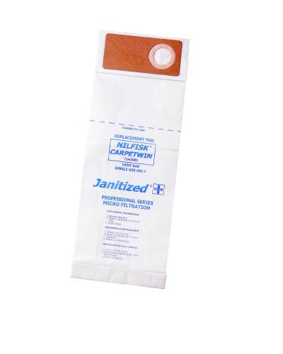 Janitized 2-Ply Vacuum Bags, Blue Star