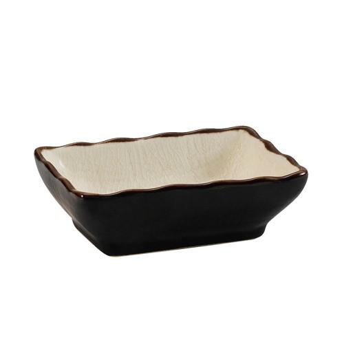 "CAC China 666-32-W Japanese Style 3-1/4"" x 2-1/2"" Sauce Dish, Creamy White"