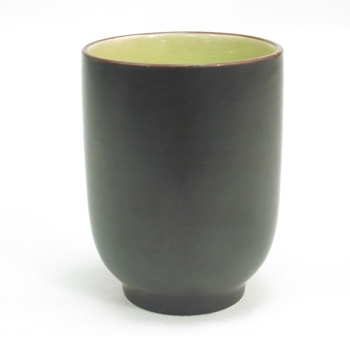 CAC China 666-1-G Japanese Style Cup 8 oz. Golden Green