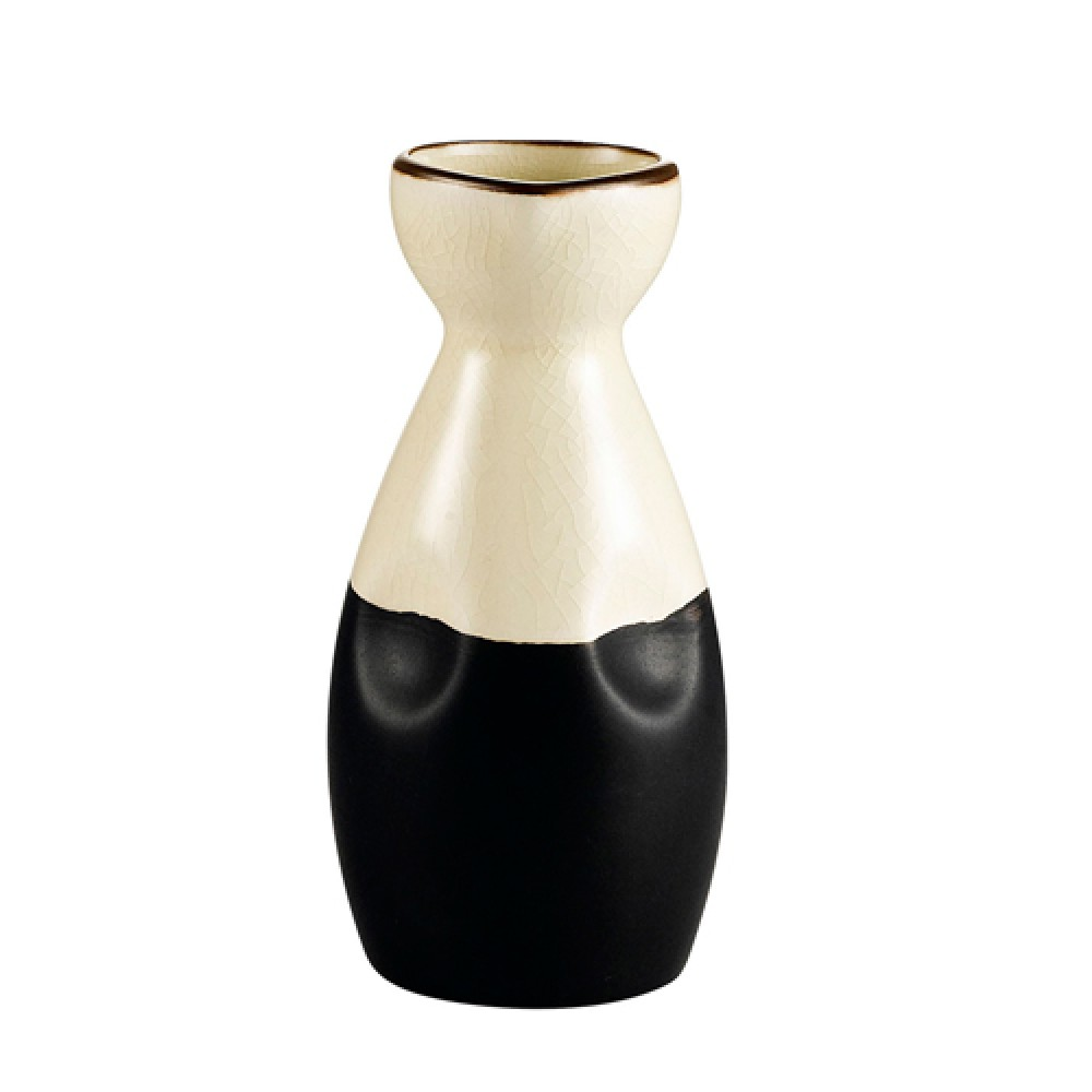 CAC China 666-WP-W Japanese Style Wine Pot 6 oz., Creamy White