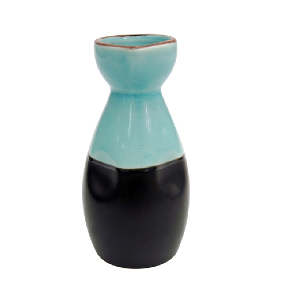 Japanese Style Wine Pot 6 Oz Lake Water Blue